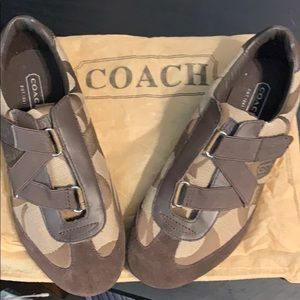 Coach brown shoes - 7 1/2 - NEW